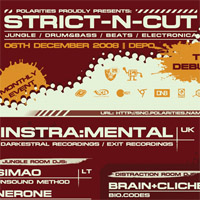 "06dec008 STRICT-N-CUT: THE DEBUT! @ ""Depo"""